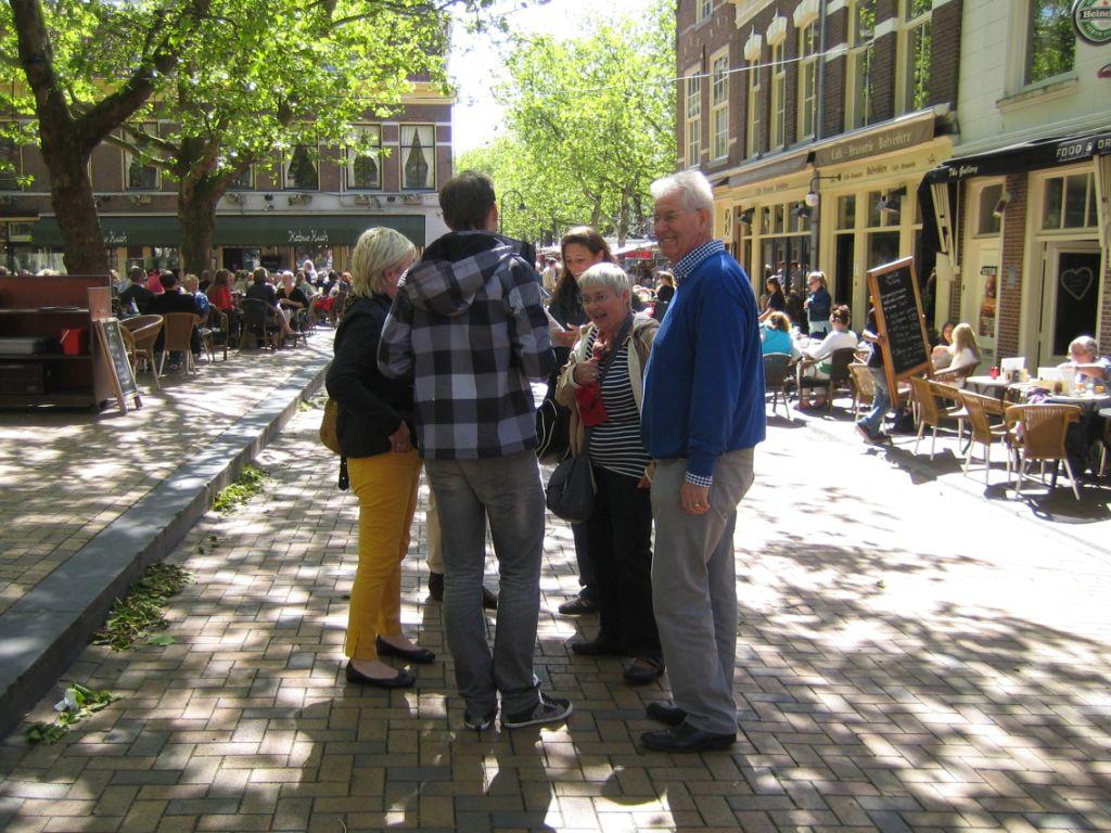 Mooi weer in Delft