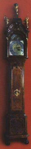 Staand horloge uit het bezit van Seerp Gratama, vervaardigd door Jacob Radsma, circa 1770